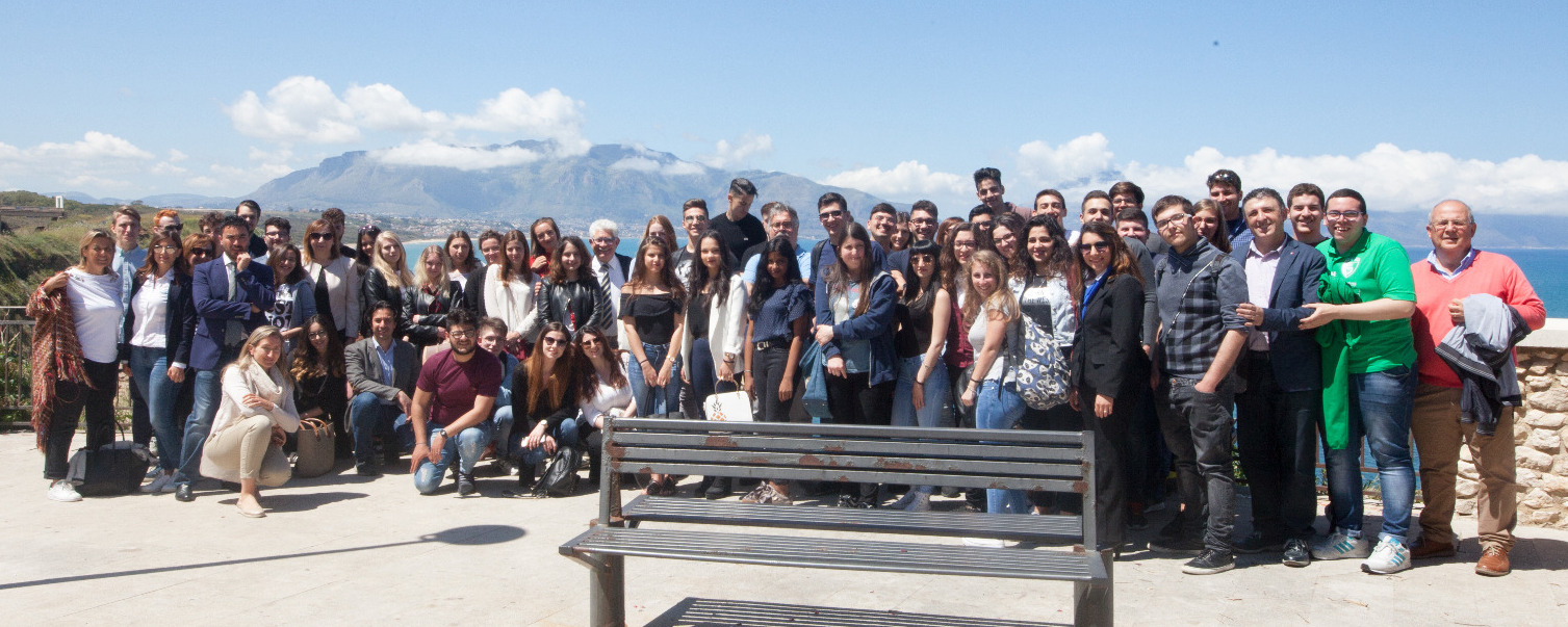 Balestrate, internationalized companies: organized two student camps in tourist companies
